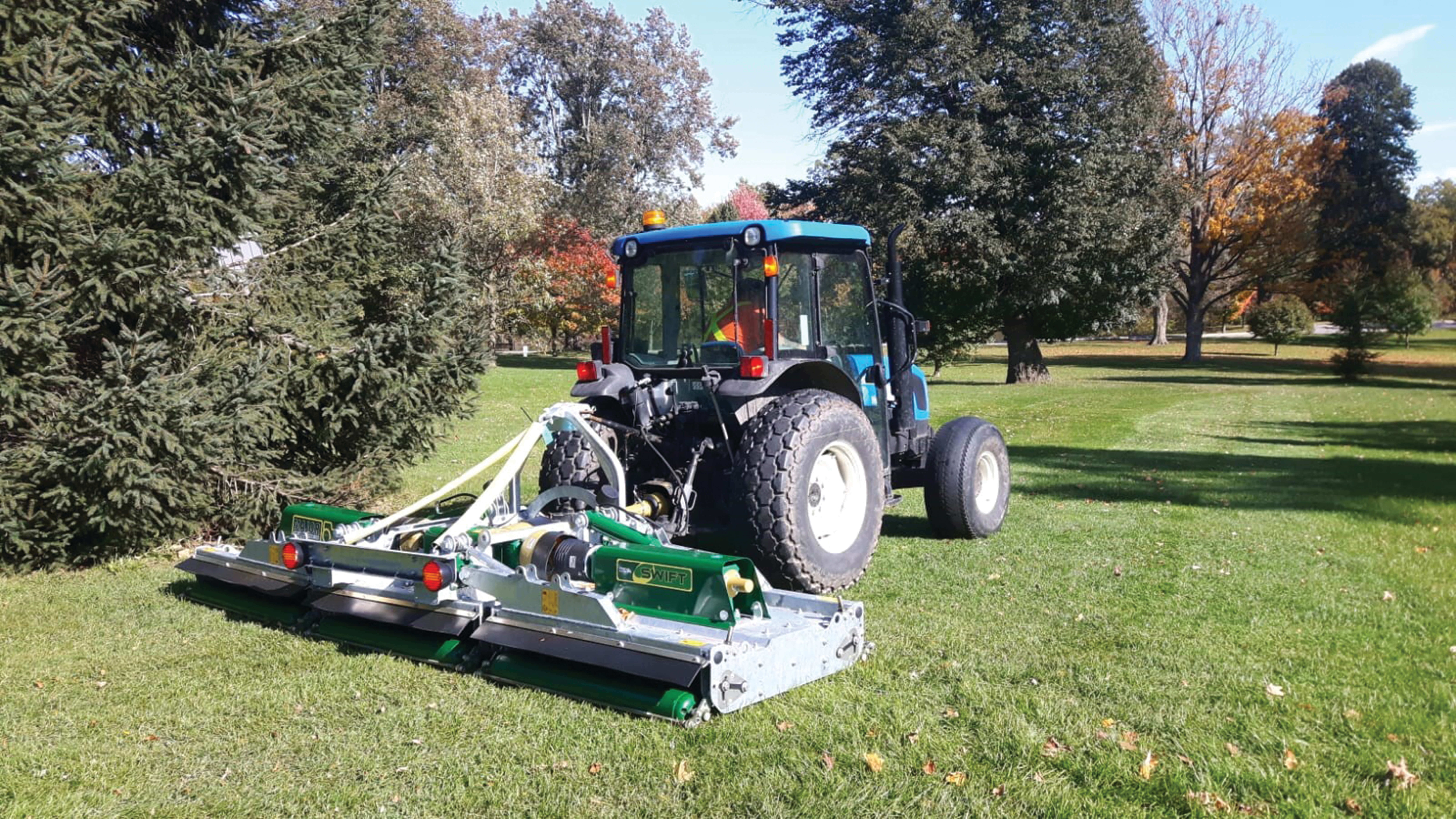 Major Swift Roller Mower (winged, three point linkage)