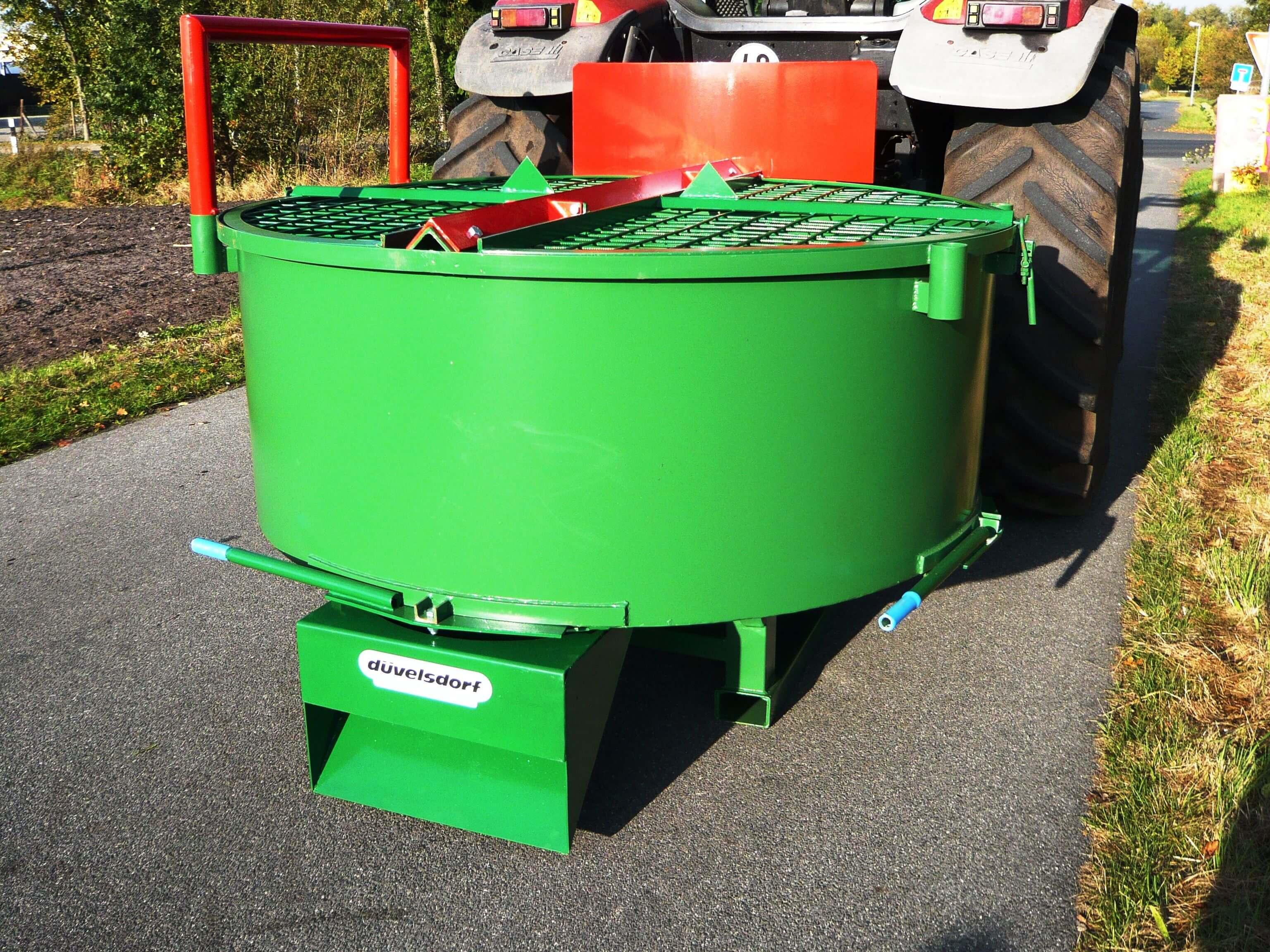 PTO Concrete Mixer
