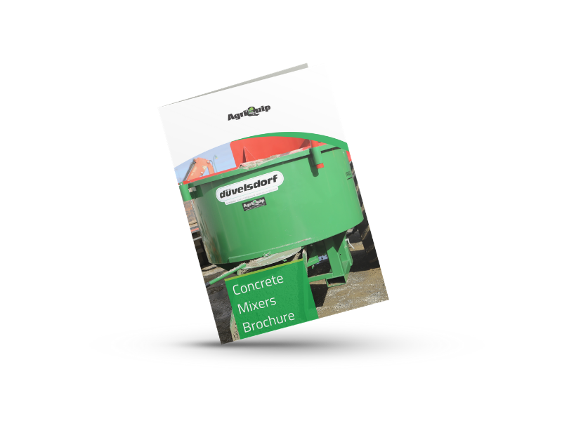 Download our concrete mixers brochure here